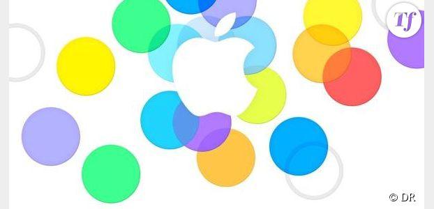iPhone 5C / 5S : revoir le Keynote du 10 septembre en replay streaming