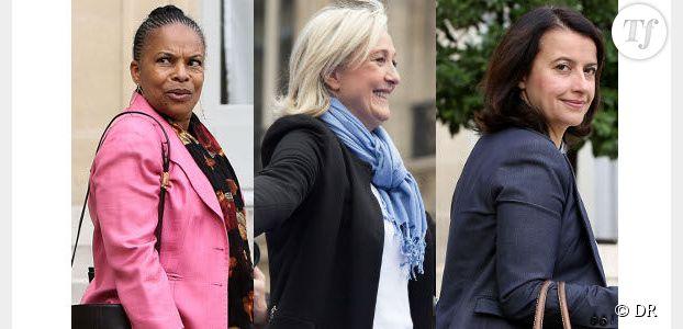 Taubira, Le Pen et Duflot : les twittos parlent d'elles