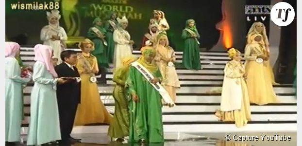 """Un concours de """"Miss Musulmanes"""" s'oppose à Miss Monde en Indonésie"""