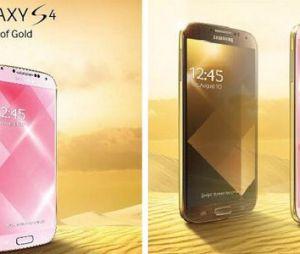 Samsung Galaxy : un S4 en or avant la sortie du S5