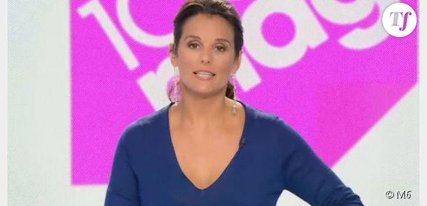 Faustine Bollaert : après le bébé, le retour dans 100% Mag