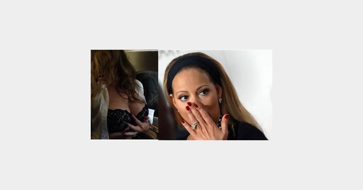 Mariah carey une photo de ses seins en cadeau pour l - Idee cadeau pour son mari ...