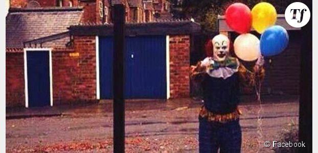 Le terrifiant clown de Northampton démasqué