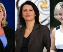 Le Pen, Duflot et Morano restent les chouchoutes de Twitter