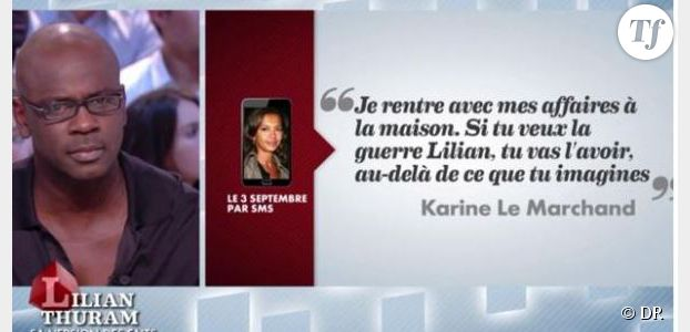 Grand Journal : revoir Lilian Thuram parler de Karine Le Marchand - Canal + Replay