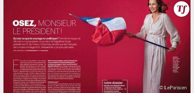 Ségolène Royal se prend pour la Liberté guidant les politiques