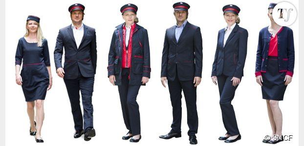 SNCF : un nouvel uniforme bleu marine et rouge plus seyant pour les agents