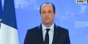 François Hollande annonce la libération des quatre otages français au Niger