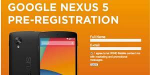 Nexus 5 : caractéristiques du smartphone Google avant la date de sortie