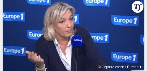 """Marine Le Pen """"étonnée"""" par la barbe et le chèche des ex-otages"""