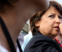 Martine Aubry en tête des personnalités socialistes en cas de remaniement