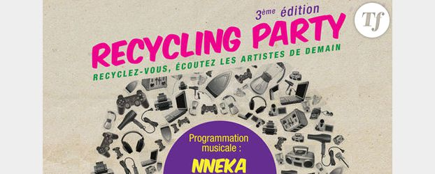 Recycling Party : un concert gratuit pour un déchet électrique apporté
