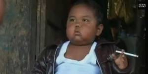 Il fumait 40 cigarettes par jour à 2 ans, Ardi Rizal est devenu obèse