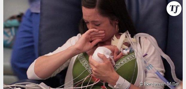 La première année de vie d'un bébé prématuré fait le tour du web - vidéo