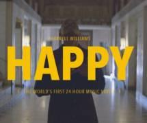 """Pharrell Williams : """"Happy"""" le clip qui dure 24 heures"""