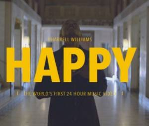 "Pharrell Williams : ""Happy"" le clip qui dure 24 heures"