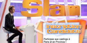 Casting : comment participer à l'émission Slam ?