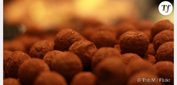 Recette des truffes en chocolat