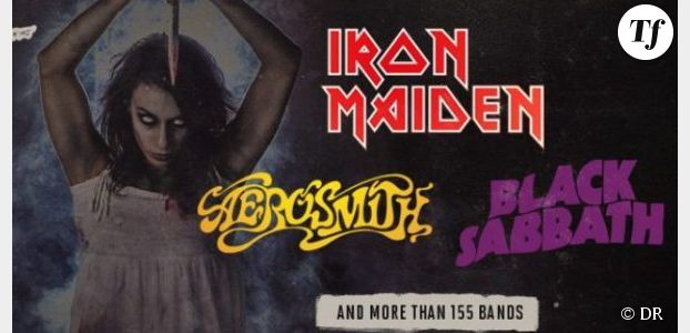 Programme Hellfest 2014 : Iron Maiden, Aerosmith & co