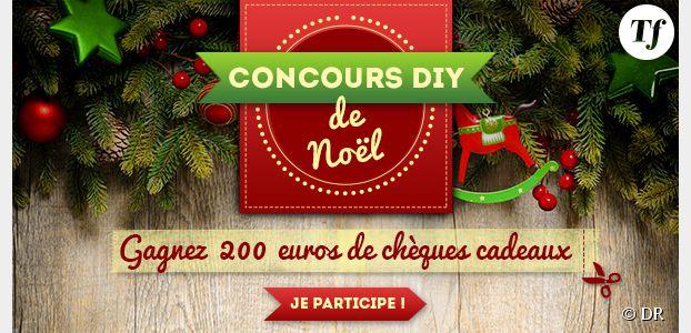 Concours DIY de Noël : gagnez 200 euros de chèques cadeaux * !