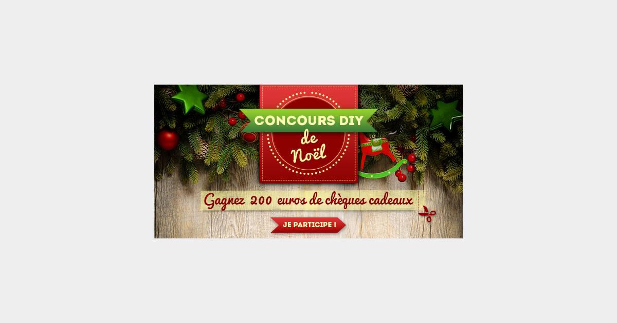 Concours diy de no l gagnez 200 euros de ch ques cadeaux for A la maison pour noel streaming