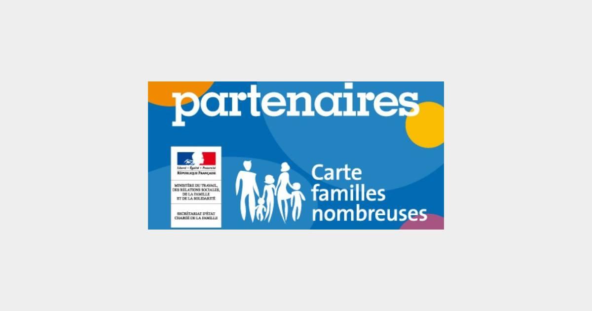 Carte Familles Nombreuses Avantages Demande Renouvellement