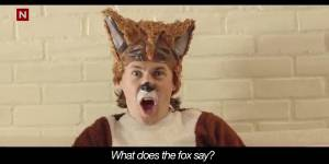 """YouTube : """"The Fox"""", l'étonnante vidéo la plus vue en 2013"""