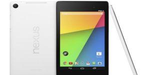 Noël 2013 : une Nexus 7 de couleur blanche