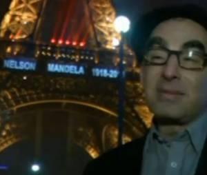 Le nom de Mandela illuminera la tour Eiffel à 17h30 - en vidéo