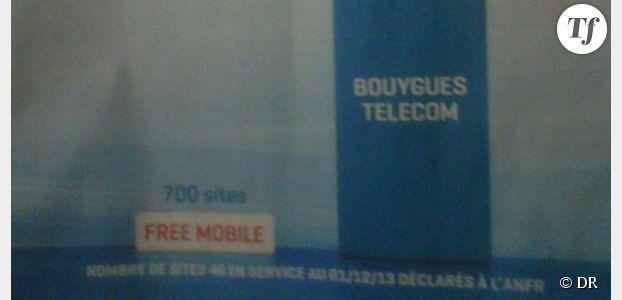 Free Mobile : son offre 4G moquée par Bouygues Telecom