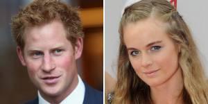 Cressida Bonas bientôt mariée au prince Harry ? ses proches s'inquiètent