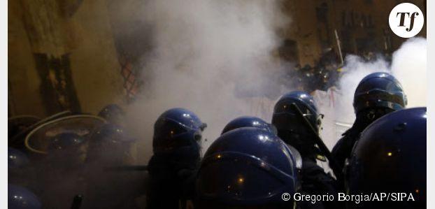 Italie : poursuivie pour agression sexuelle après avoir embrassé un policier lors d'une manif