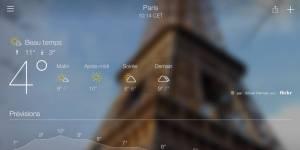 Météo : Yahoo s'installe enfin sur iPad