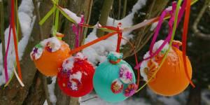 Comment fabriquer des boules de Noël en tissu – DIY