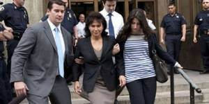DSK et Anne Sinclair : ils s'envoient des baisers au tribunal