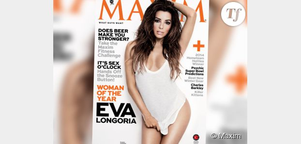 Eva Longoria est la femme de l'année pour le magazine Maxim