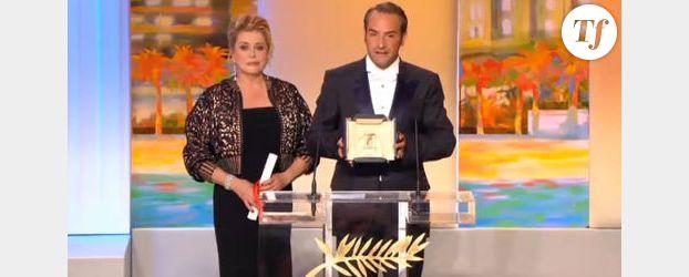 Jean dujardin triomphe cannes for Jean dujardin muet