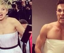 Golden Globes 2014 : Internet se moque de la robe de Jennifer Lawrence
