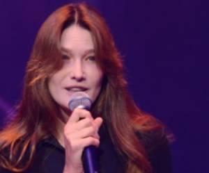 Carla Bruni Sarkozy rêve de monter sur scène dans un one woman show