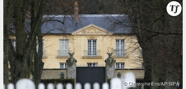 La Lanterne : la résidence où est réfugiée Valérie Trierweiler