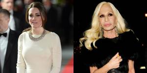 Kate Middleton est une reine de la mode pour Donatella Versace