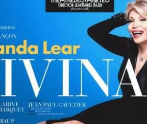 Divina : la pièce d'Amanda Lear diffusée en direct sur TMC