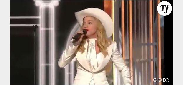Grammy Awards 2014 : l'étonnante prestation de Madonna (Vidéo Replay)