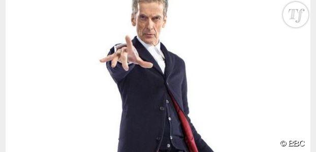 Doctor Who  Saison 8 : Peter Capaldi enfile son costume (photo)