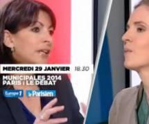 Municipales 2014 : débat Anne Hidalgo et NKM en direct et replay (29 janvier)