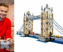 David Beckham joue aux Lego pour décompresser