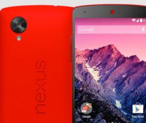 Nexus 5 : la version rouge du smartphone est en vente