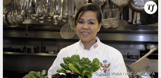 Qui est Cristeta Comerford, la cheffe qui va cuisiner pour le dîner Obama-Hollande ?