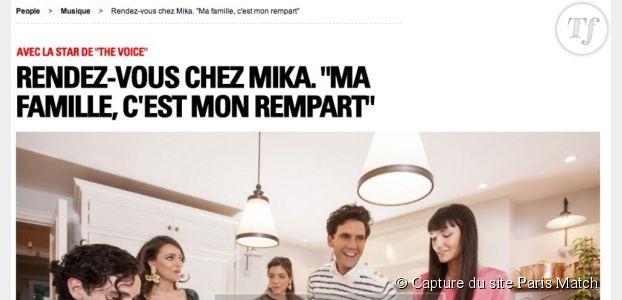 The Voice 2014 : Mika ne peut pas se passer de sa famille