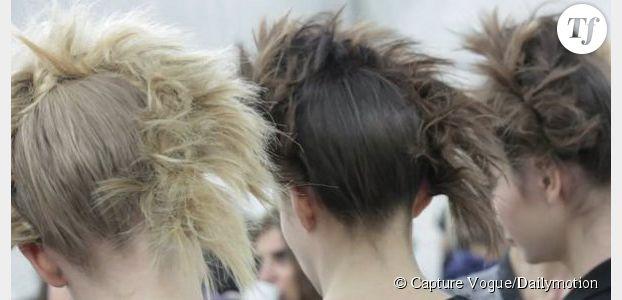 Tendances printemps-été 2014 : 5 coiffures repérées à la Fashion Week